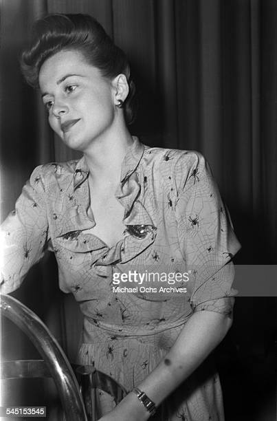 Actress Olivia de Havilland attends an event in Los Angeles California