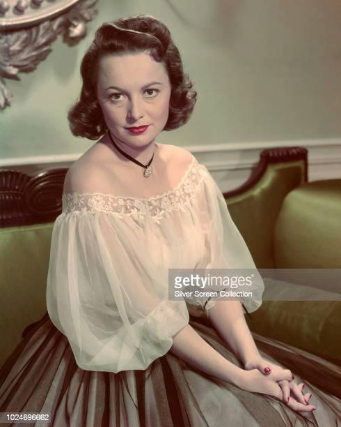 Actress Olivia de Havilland circa 1940