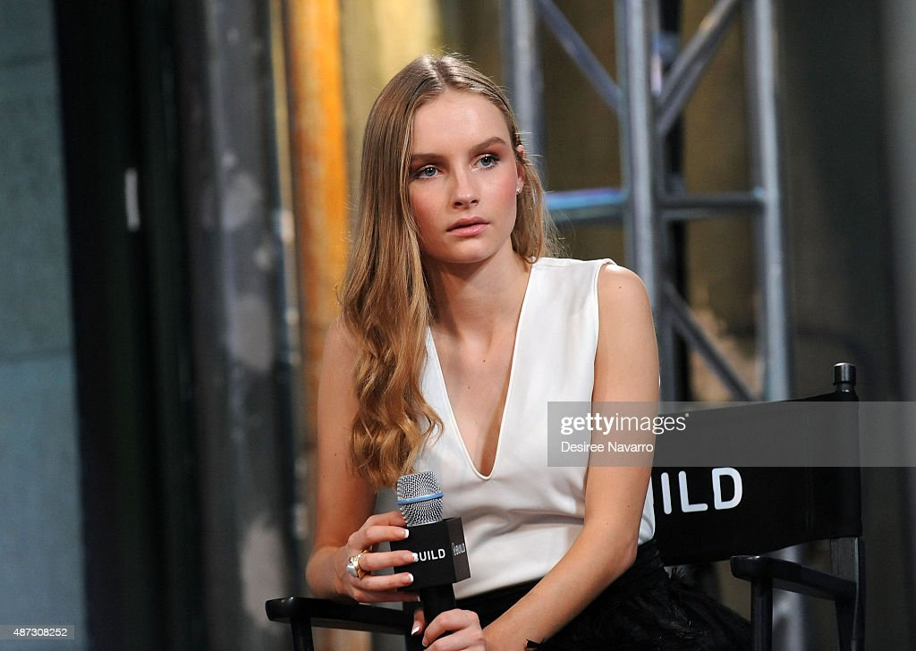 Actress Olivia DeJonge attends AOL BUILD Speaker Series: 'The Visit' at AOL Studios In New York on September 8, 2015 in New York City.