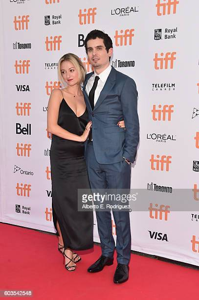 Actress Olivia Hamilton and director Damien Chazelle attend the La La Land Premiere during the 2016 Toronto International Film Festival at Princess...
