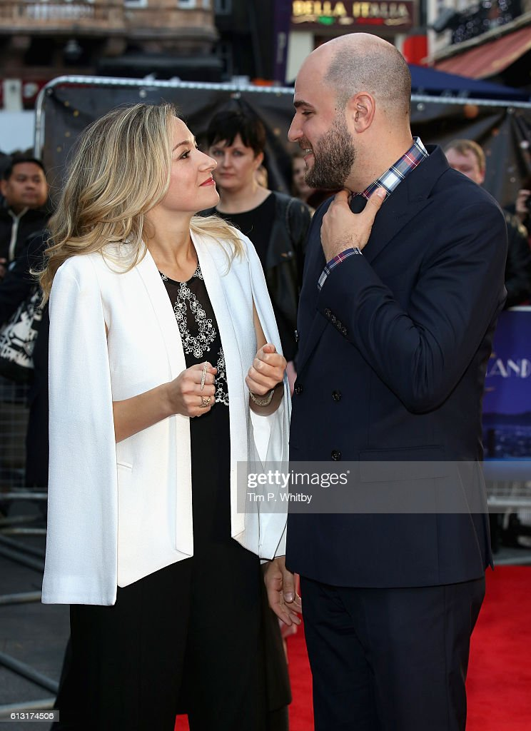 Actress Olivia Hamilton and producer Jordan Horowitz attend the 'La La Land' Patrons Gala screening during the 60th BFI London Film Festival at the Odeon Leicester Square on October 7, 2016 in London, England.