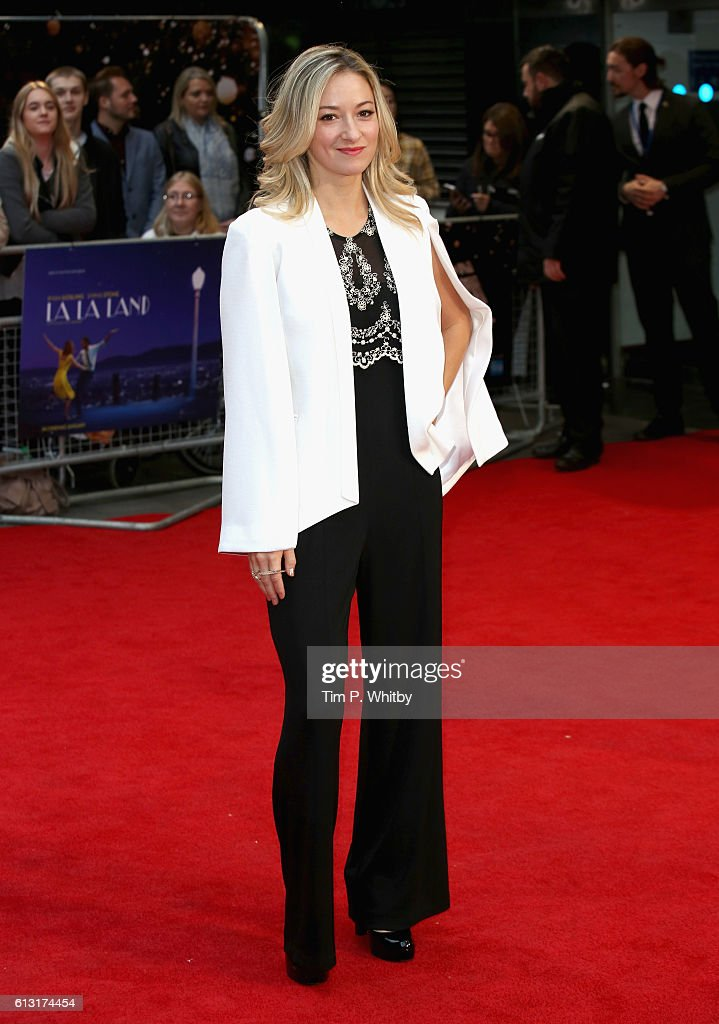 Actress Olivia Hamilton attends the 'La La Land' Patrons Gala screening during the 60th BFI London Film Festival at the Odeon Leicester Square on October 7, 2016 in London, England.
