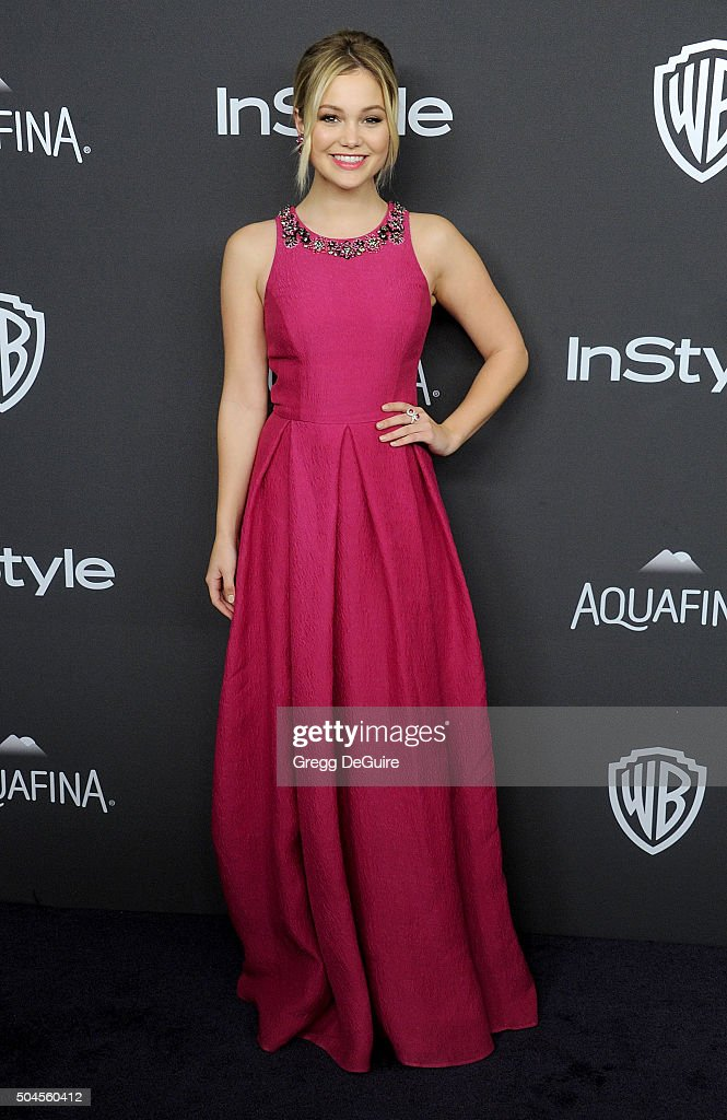 Actress Olivia Holt arrives at the 2016 InStyle And Warner Bros. 73rd Annual Golden Globe Awards Post-Party at The Beverly Hilton Hotel on January 10, 2016 in Beverly Hills, California.