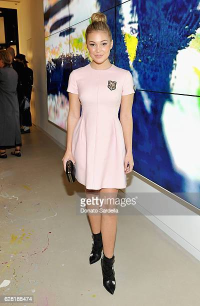 Actress Olivia Holt attends Dior Lady Art Los Angeles Popup Boutique Opening Event on December 6 2016 in Beverly Hills California