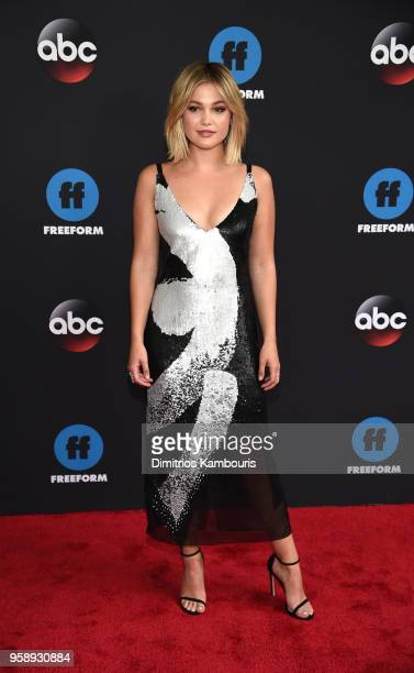 Actress Olivia Holt attends during 2018 Disney ABC Freeform Upfront at Tavern On The Green on May 15 2018 in New York City