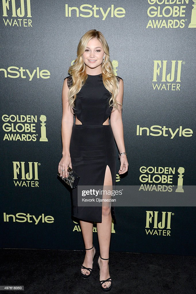 Hollywood Foreign Press Association And InStyle Celebrate The 2016 Golden Globe Award Season : News Photo