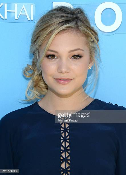 Actress Olivia Holt attends POPSUGAR and the Council of Fashion Designers of America brunch with designer Jonathan Simkhai at the Cabana Club on...