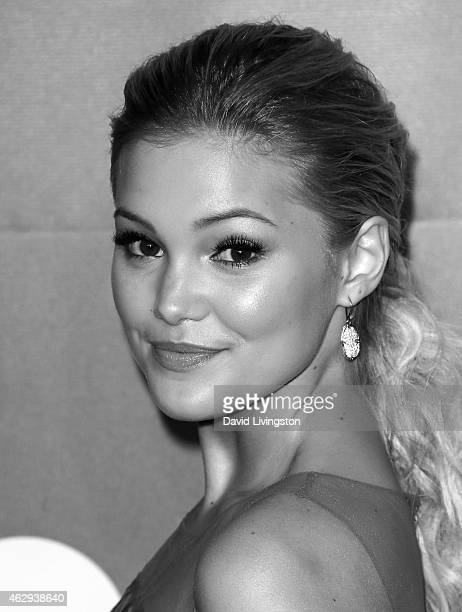Actress Olivia Holt attends the 2015 MusiCares Person of the Year Gala honoring Bob Dylan at the Los Angeles Convention Center on February 6 2015 in...