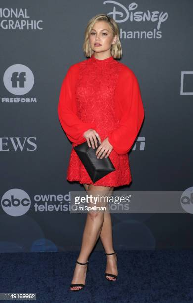 Actress Olivia Holt attends the 2019 Walt Disney Television Upfront at Tavern On The Green on May 14 2019 in New York City
