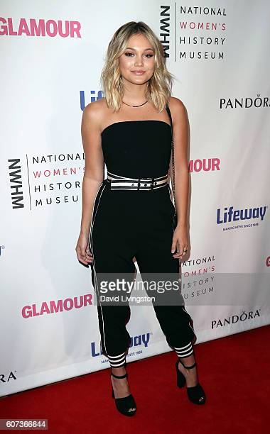 Actress Olivia Holt attends the 5th Annual Women Making History Brunch at Montage Beverly Hills on September 17 2016 in Beverly Hills California