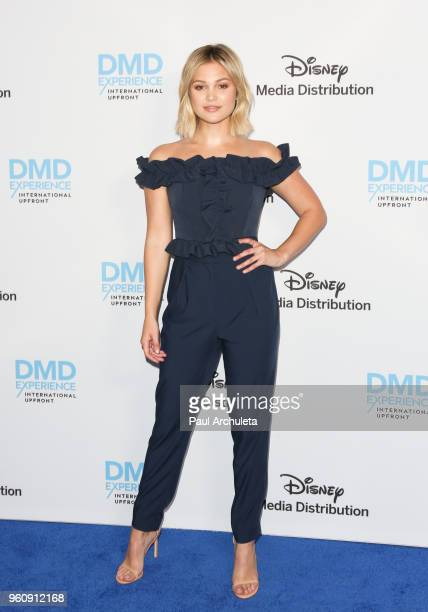 Actress Olivia Holt attends the Disney/ABC International Upfronts at the Walt Disney Studio Lot on May 20 2018 in Burbank California