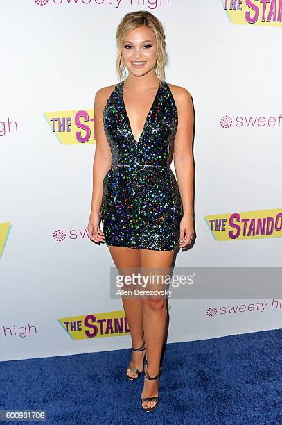 Actress Olivia Holt attends the premiere of Vision Films' 'The Standoff' at Regal LA Live A Barco Innovation Center on September 8 2016 in Los...