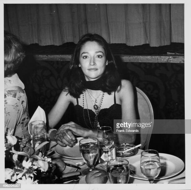 Actress Olivia Hussey attending the Artistry in Cinema Awards at the International Ballroom of the Beverly Hills Hilton California May 27th 1979