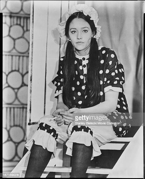 Actress Olivia Hussey star of the movie 'All the Right Noises' 1971