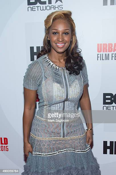 Actress Olivia Longott attends the 2015 Urban Film Festival at the AMC Empire 25 theater on September 25 2015 in New York City