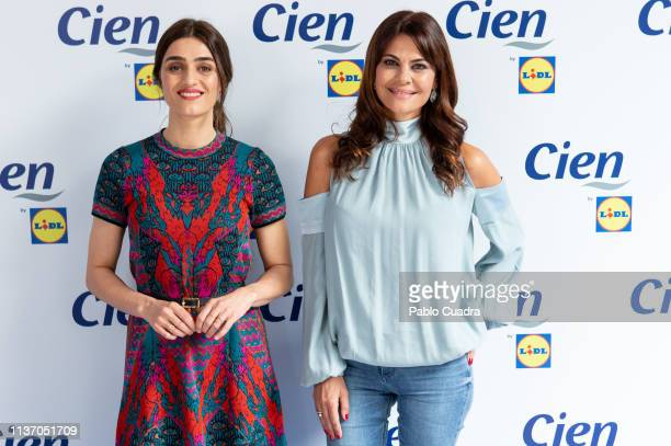 Actress Olivia Molina and model Maria Jose Suarez attend the #Realwoman event by Lidl on March 20 2019 in Madrid Spain