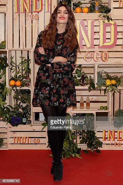 Actress Olivia Molina attends the 'Indi' drinks photocall at El Magico bar on November 15 2016 in Madrid Spain