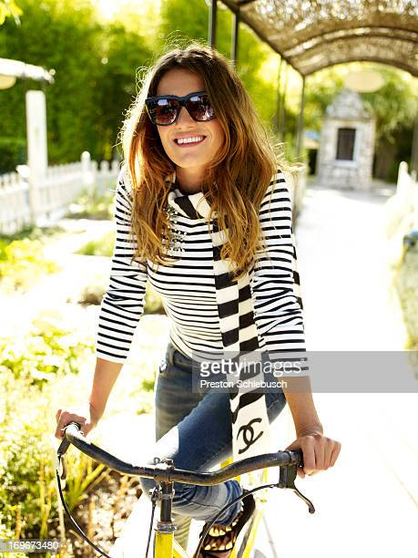 Actress Olivia Molina is photographed for Conde Nast Traveler Spain on September 17 2009 in Vence France PUBLISHED IMAGE