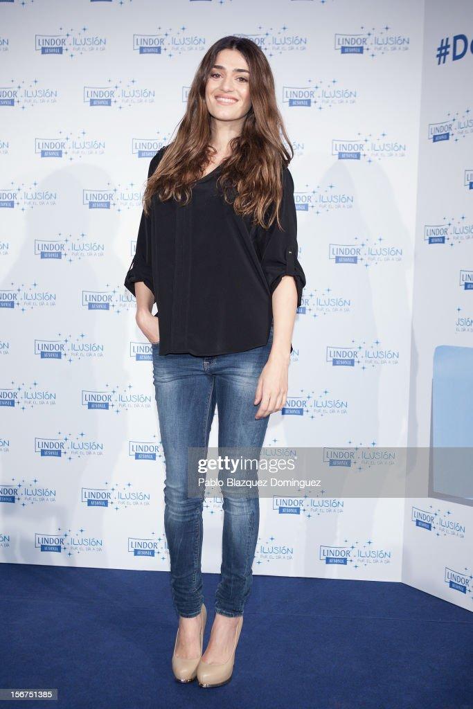 Actress Olivia Molina presents 'Ilusion Por el Dia a Dia' Campaign at Espacio CoolRoom on November 20, 2012 in Madrid, Spain.