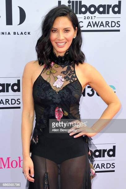 Actress Olivia Munn arrives at 2017 Billboard Music Awards at TMobile Arena on May 21 2017 in Las Vegas Nevada