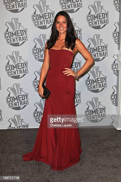 Actress Olivia Munn arrives at Comedy Central's 62nd Annual Emmy After Party at The Colony on August 29 2010 in Los Angeles California