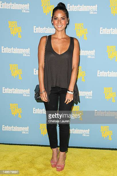 Actress Olivia Munn arrives at Entertainment Weekly's ComicCon celebration at Float at Hard Rock Hotel San Diego on July 14 2012 in San Diego...