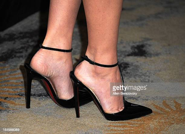 Actress Olivia Munn arrives at the 2012 Courage in Journalism Awards hosted by the International Women's Media Foundation held at the Beverly Hills...
