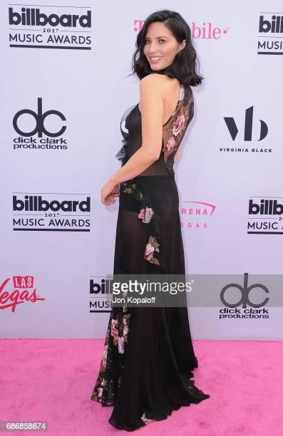 Actress Olivia Munn arrives at the 2017 Billboard Music Awards at TMobile Arena on May 21 2017 in Las Vegas Nevada