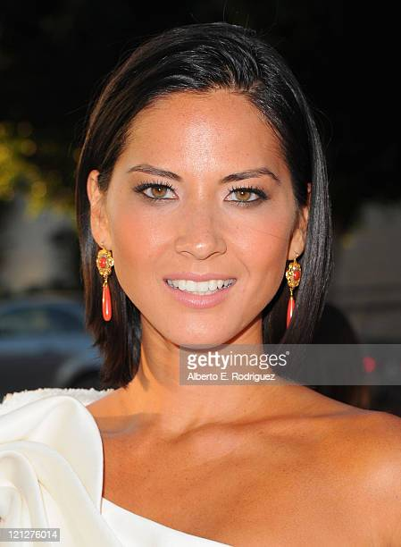 Actress Olivia Munn arrives to the premiere of The Weinstein Company's Our Idiot Brother on August 16 2011 in Los Angeles California
