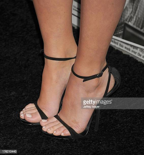 Actress Olivia Munn at the Los Angeles Season 2 Premiere Of HBO's Series 'The Newsroom' at Paramount Studios on July 10 2013 in Hollywood California