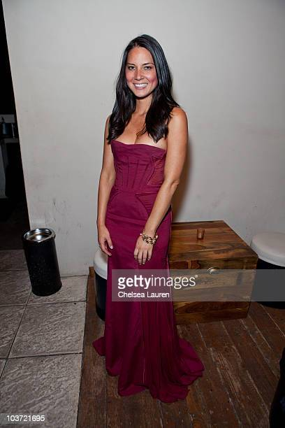 Actress Olivia Munn attends Comedy Central's 62nd Annual Emmy After Party at The Colony on August 29 2010 in Los Angeles California