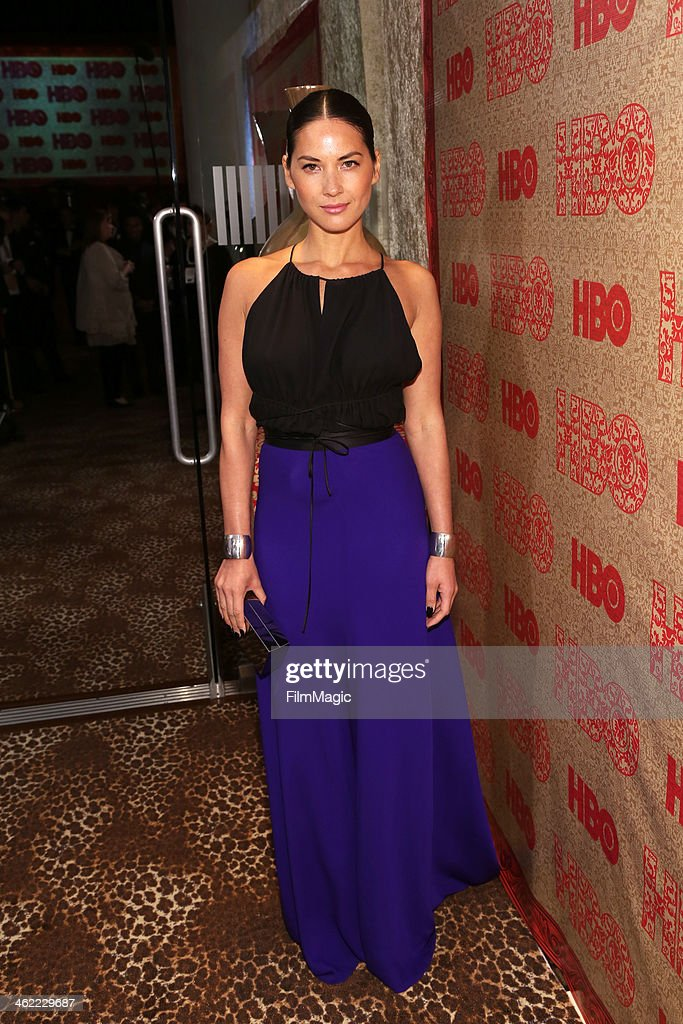 Actress Olivia Munn attends HBO's Official Golden Globe Awards After Party at The Beverly Hilton Hotel on January 12, 2014 in Beverly Hills, California.