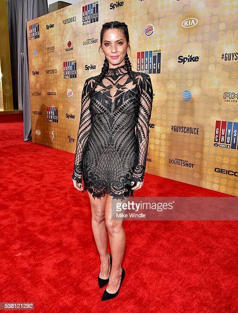 Actress Olivia Munn attends Spike TV's 10th Annual Guys Choice Awards at Sony Pictures Studios on June 4 2016 in Culver City California