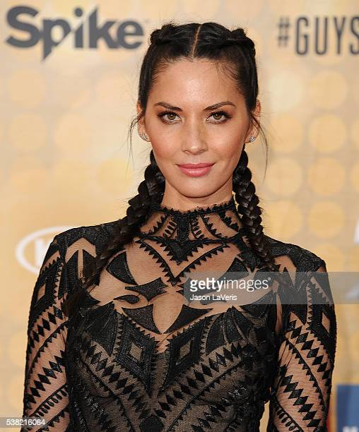 Actress Olivia Munn attends Spike TV's Guys Choice 2016 at Sony Pictures Studios on June 4 2016 in Culver City California