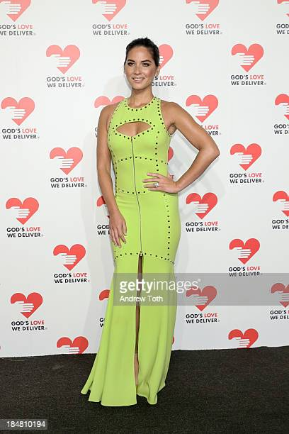 Actress Olivia Munn attends the 2013 God's Love We Deliver 2013 Golden Heart Awards Celebration at Spring Studios on October 16 2013 in New York City