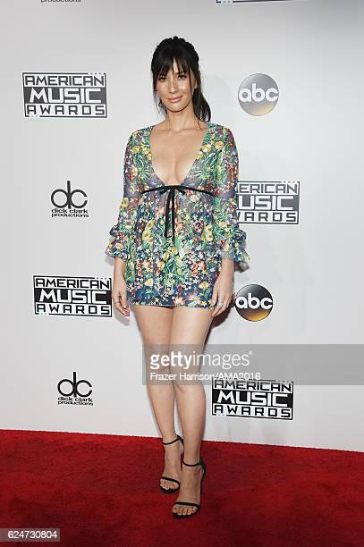 Actress Olivia Munn attends the 2016 American Music Awards at Microsoft Theater on November 20 2016 in Los Angeles California