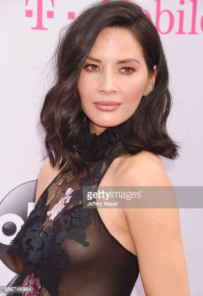 Actress Olivia Munn attends the 2017 Billboard Music Awards at TMobile Arena on May 21 2017 in Las Vegas Nevada