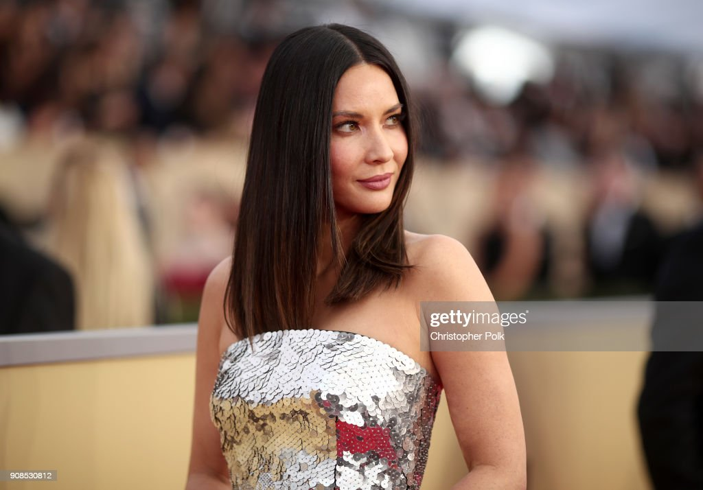 Actress Olivia Munn attends the 24th Annual Screen Actors Guild Awards at The Shrine Auditorium on January 21, 2018 in Los Angeles, California. 27522_010