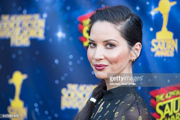 Actress Olivia Munn attends the 42nd Annual Saturn Awards at The Castaway on June 22, 2016 in Burbank, California.
