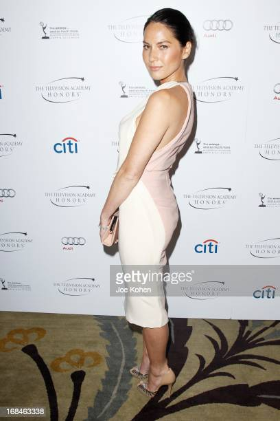 Actress Olivia Munn attends the 6th Annual Television Academy Honors at Beverly Hills Hotel on May 9 2013 in Beverly Hills California