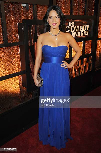 Actress Olivia Munn attends the First Annual Comedy Awards at Hammerstein Ballroom on March 26, 2011 in New York City.