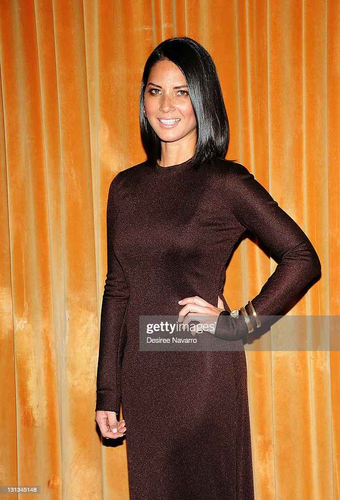 Actress Olivia Munn attends the 'Other Desert Cities' opening night after party at the Marriot Marquis on November 3, 2011 in New York City.