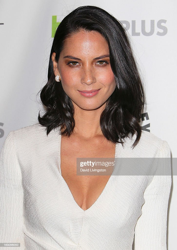 Actress Olivia Munn attends The Paley Center For Media's PaleyFest 2013 honoring 'The Newsroom' at the Saban Theatre on March 3, 2013 in Beverly Hills, California.