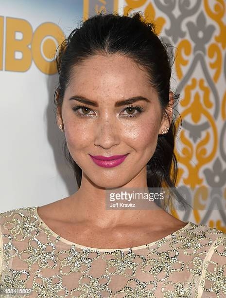 Actress Olivia Munn attends the premiere of HBO's 'The Newsroom' Season 3 at the DGA Theater on November 4 2014 in Los Angeles California