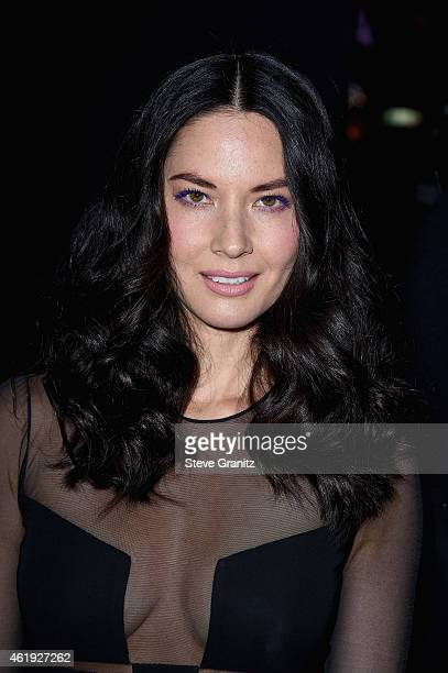 Actress Olivia Munn attends the premiere of Lionsgate's 'Mortdecai' at TCL Chinese Theatre on January 21 2015 in Hollywood California