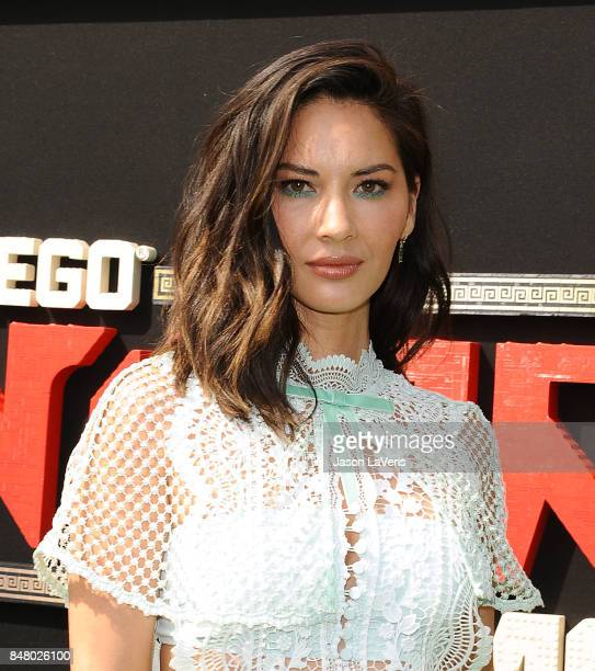 Actress Olivia Munn attends the premiere of 'The LEGO Ninjago Movie' at Regency Village Theatre on September 16 2017 in Westwood California