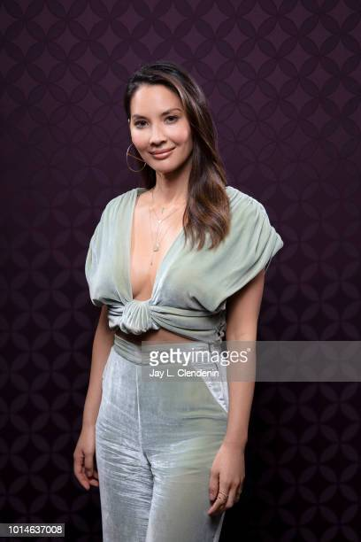 Actress Olivia Munn from 'The Predator' is photographed for Los Angeles Times on July 19 2018 in San Diego California PUBLISHED IMAGE CREDIT MUST...