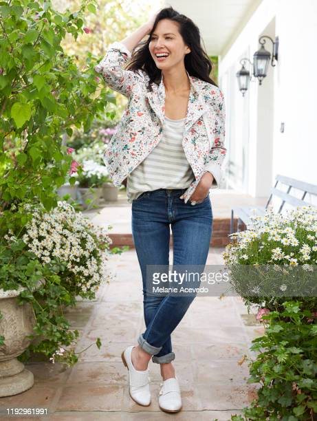 Actress Olivia Munn is photographed for Redbook Magazine on February 17 2014 in Los Angeles California