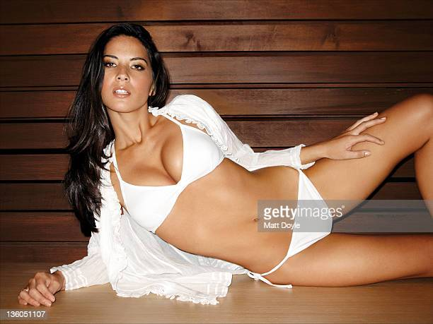 Actress Olivia Munn is photographed for Self Assignment on October 3 2009 in New York City