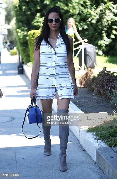 Actress Olivia Munn is seen on July 20 2016 in Los Angeles California